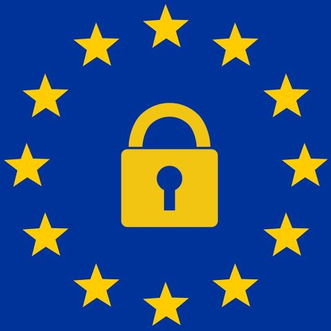 A Flag Representing the EU's General Data Protection Regulation