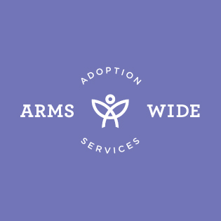Arms Wide Adoption Services brand identity