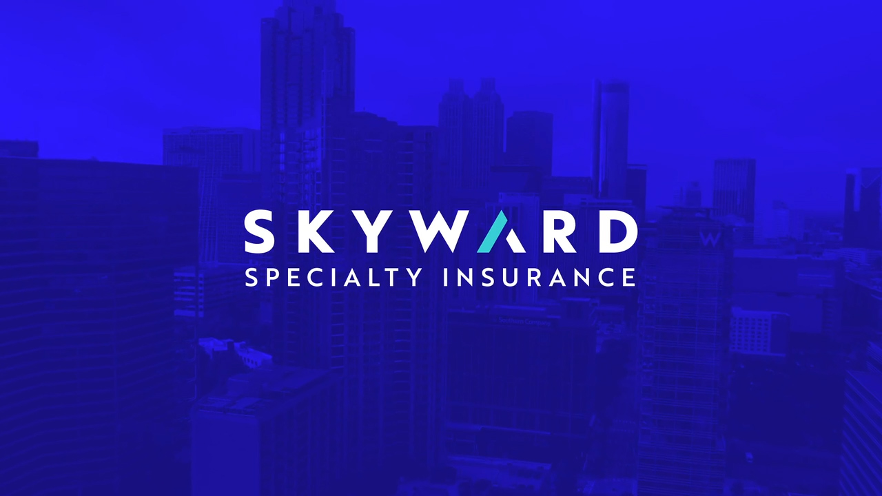 The new logo for the recently rebranded Skyward Specialty Insurance brand