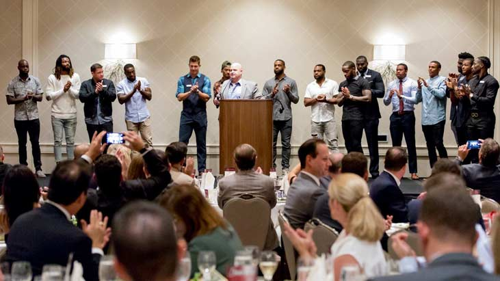Kareem Jackson Foundation 2017 Dinner for a Difference